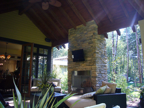 Home Theater Pearland – Outdoor Patio Audio Visual System ...